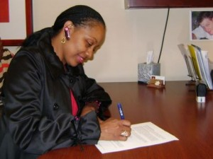 Rachel Allen Home Purchase Signing