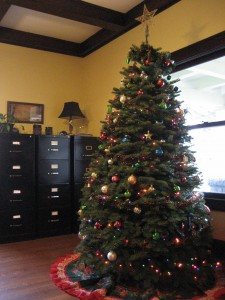 PCRI Lobby Holiday Tree
