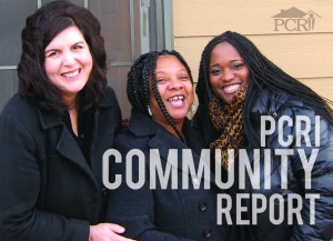 PCRI Community Report cover