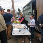 10 Parr Lumber grilled up lunch for the volunteers