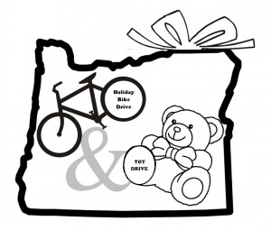 Holiday Bike Drive & Toy Drive Logo
