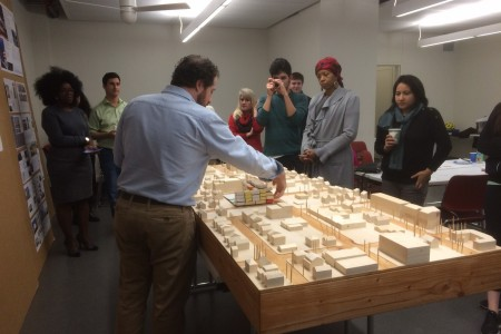 PCRI staff and PSU Architecture students collaborate on a housing planning project