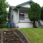 Existing home was not practical to rehabilitate