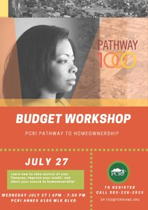 budget workshop 2