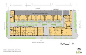 King Parks Apartments: Proposed Site Plan