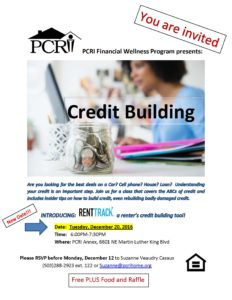 Credit Building Class flyer_11.1.16