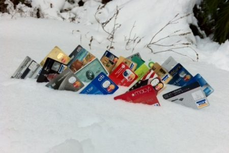 credit-cards-in-a-mound-of-snow-500x373