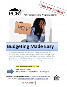Budgeting made easy flier_1.13.17